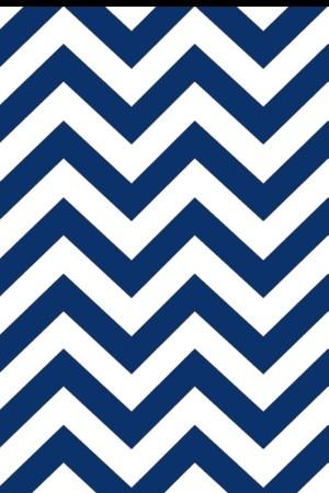 Blue Chevron Cool Wallpaper 1